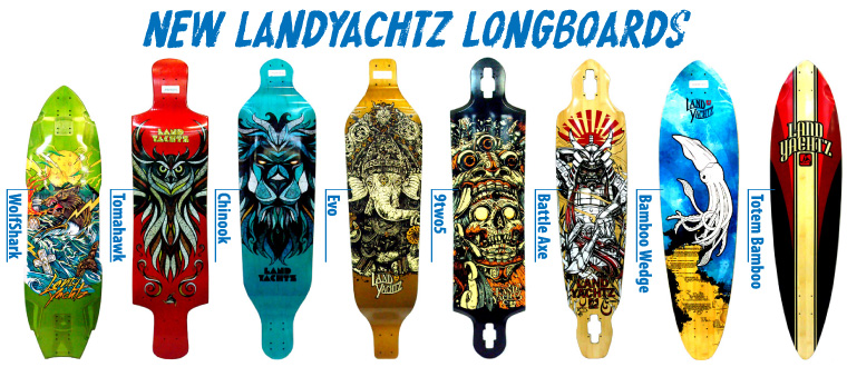Landyachtz // Longboard Graphics on Behance