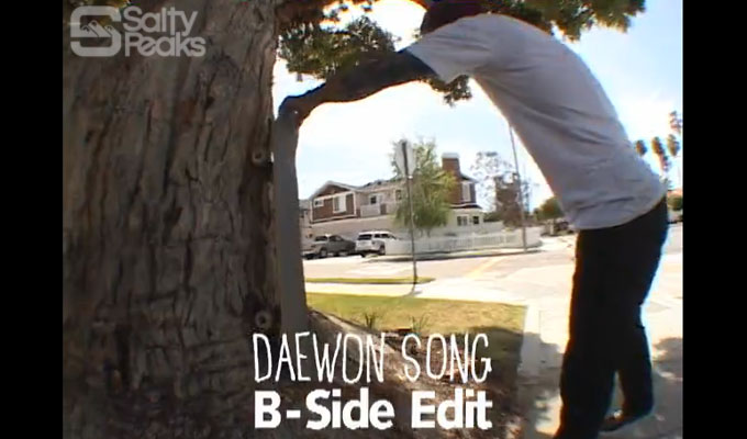 Daewon Song – 5-Incher B-Sides – Almost Skateboards : Salty
