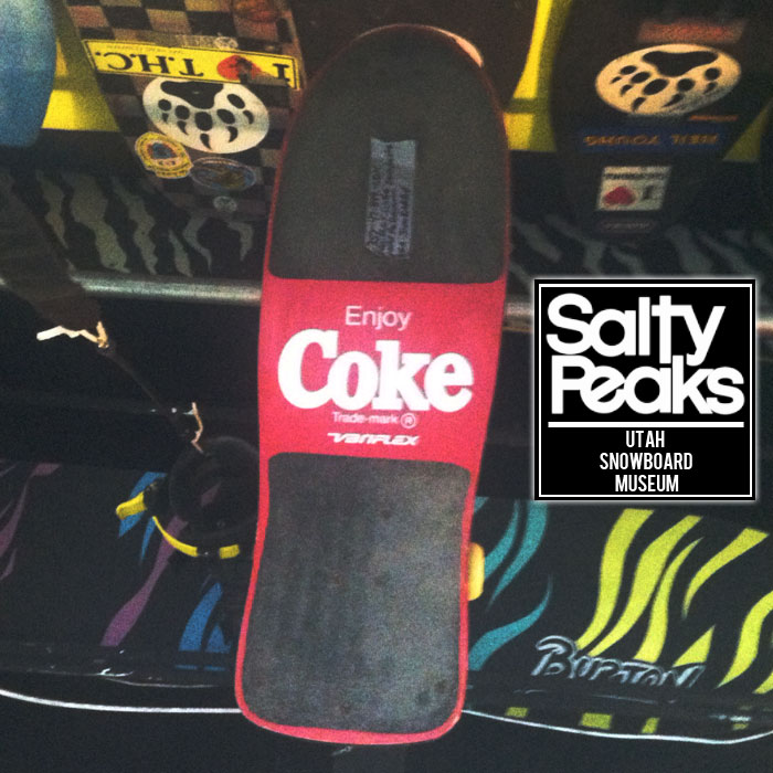 Utah Snowboard / Skateboard Museum Photos : Salty Peaks