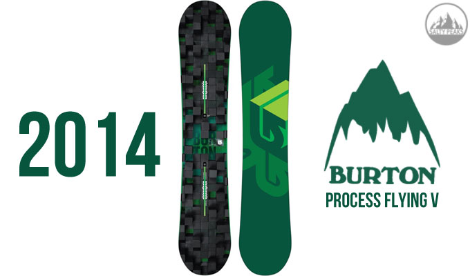 2014 Burton Process Flying V Snowboard
