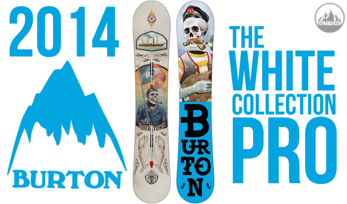 2014 Burton White Collection Snowboard