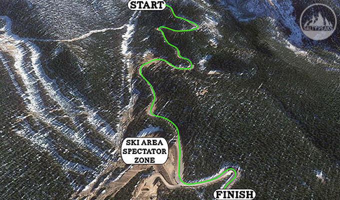 Pikes Peak Downhill Race Course