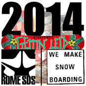 Rome Snowboards 2014