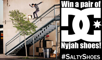 DC Nyjah Huston Skate Shoe Giveaway