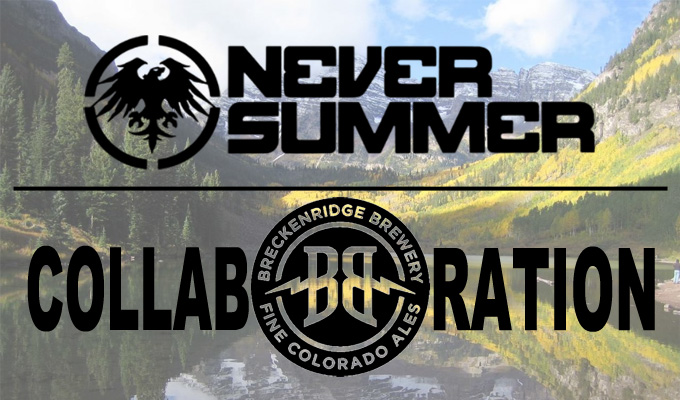 Breckenridge brewery snowboard giveaways