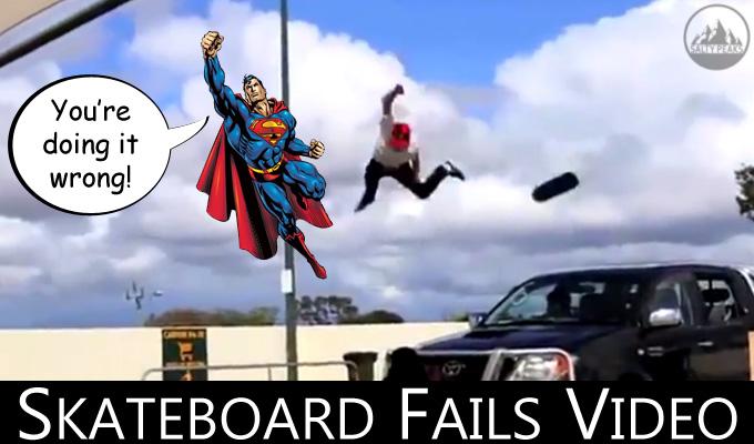 Super Gnarly Skateboard Fails Video Salty Peaks
