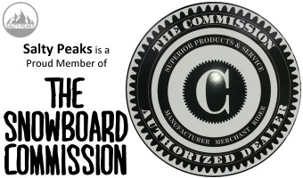 Salty Peaks is a Proud Member of The Snowboard Commission.