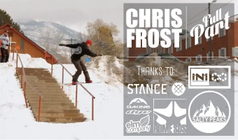 Salty Peaks Snowboard Team Chris Frost Full Part