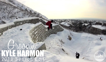Kyle Harmon 2013 Season Snowboard Edit