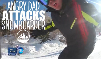 Angry-Dad-Attacks-Snowboarder-at-Snowbasin