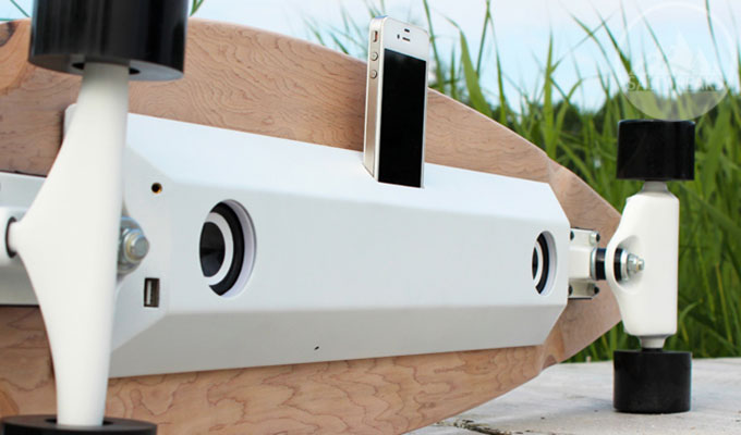 Chargeboard Longboard Charger