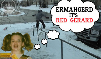 Red Gerard Snowboard Video