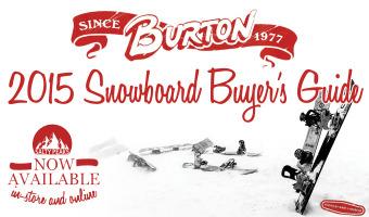 Burton 2015 Snowboard Buyers Guide