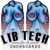 2015 Lib Tech Snowboards at Salty Peaks