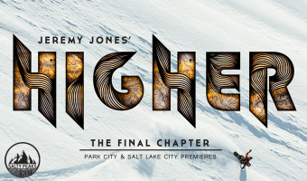 Jones Snowboards Presents Jeremy Jones' Higher Premieres Park City Salt Lake City Utah