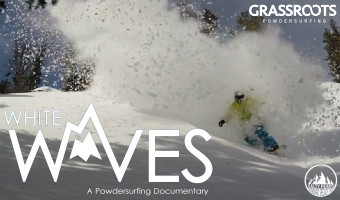 White Waves Grassroots Powdersurfing Documentary