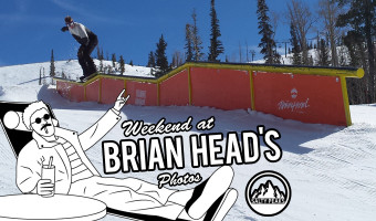 Brian Head Resort Salty Peaks Snowboard Team