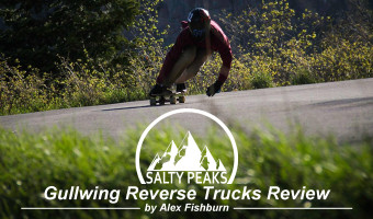 Salty Peaks Review Gullwing Reverse Trucks