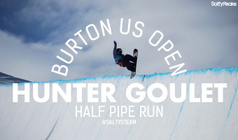 Hunter Goulet Half Pipe Run Burton US Open