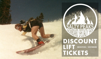 Super Discount Lift Tickets to Brighton and Snowbird at Salty Peaks