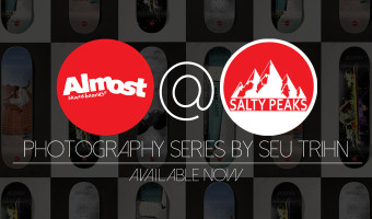 Almost Seu Trihn Photo Series Skateboards at Salty Peaks