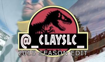 Clay Kinahan Salty Peaks Snowboard Team 2015 Season Edit