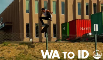 Washington to Idaho Skateboard Video