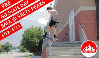Pre Go Skateboarding Day Sales