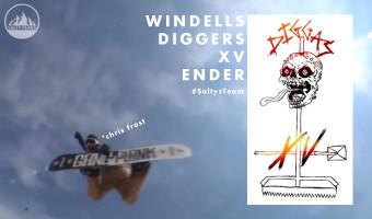 Windells Digger XV Ender Snowboard Video