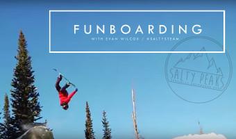 Evan Wilcox Funboarding Saltys Team