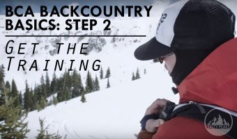 BCA Backcountry Basics Video 2 Get the Training