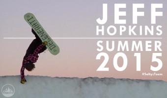 Jeff Hopkins Summer Snowboard Edit 2015