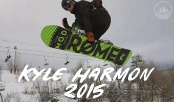 Kyle Harmon 2015 Season Edit Snowboard Video