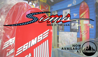 Sims Snowboards Available at Salty Peaks