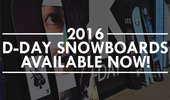 2016 D-Day Snowboards at Salty Peaks