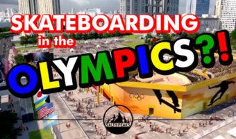 Skateboarding at the Olympics