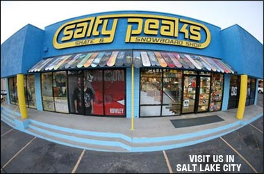 Salty Peaks Snowboard Shop in Salt Lake City, Utah