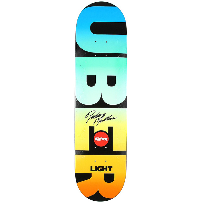 Almost uber light spectrum skateboard deck 8 at salty peaks almost uber light spectrum skateboard deck 8 aloadofball Choice Image
