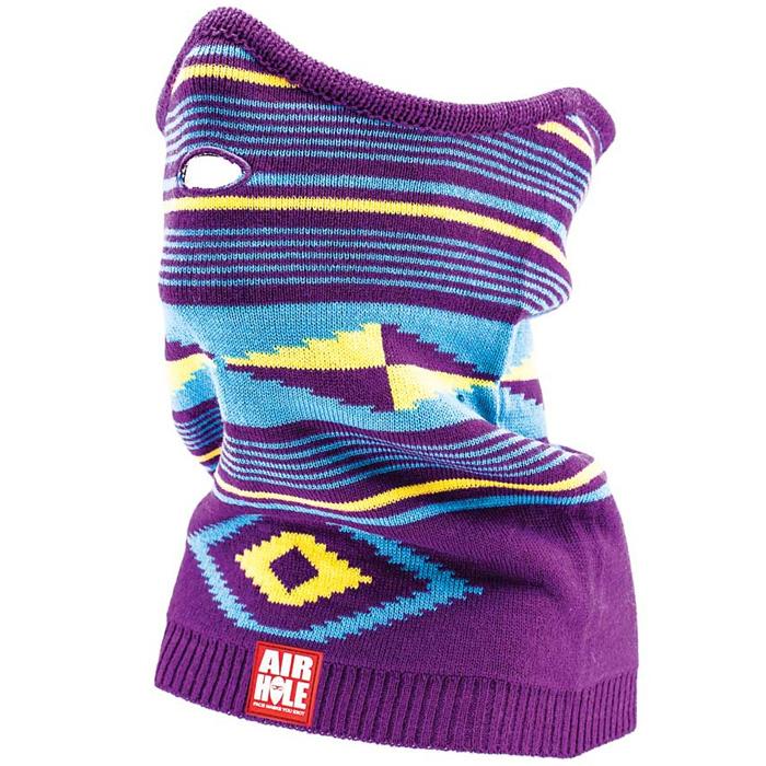 Airhole Carleton Purple Pullover Neck Gaiter - Women s at Salty Peaks 393fb566b5