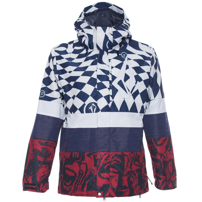 Volcom Bias Insulated Snowboard Jacket At Salty Peaks