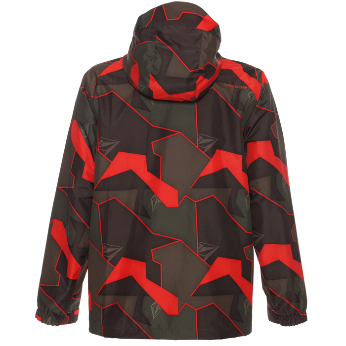 8d446fcd7438d0 Volcom Forest Snowboard Jacket at Salty Peaks