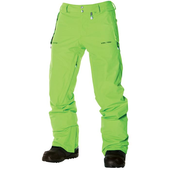 Volcom L Gore Tex Snowboard Pants At Salty Peaks