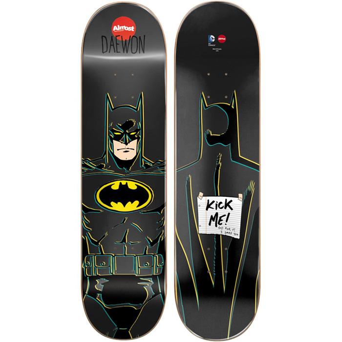 "Almost Daewon Batman Mini Skateboard Deck 7"" at Salty Peaks"