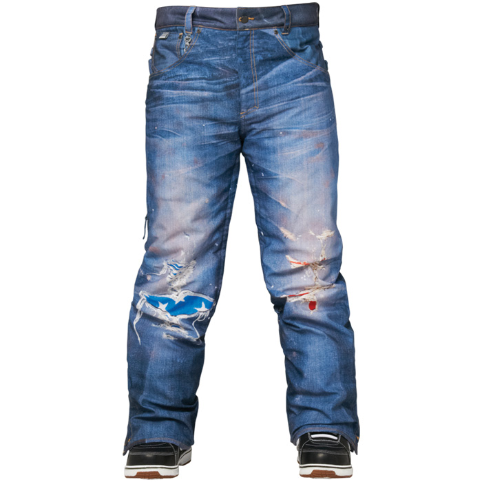 686 Limited 55DSL Thrashed Snowboard Pants
