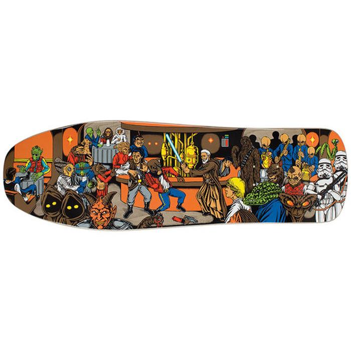 Santa Cruz Star Wars Cantina Scene Skateboard Deck 10 Quot At