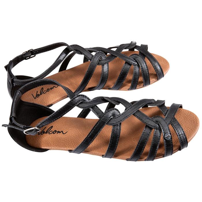 Volcom Last Call Volcom- Black sandals