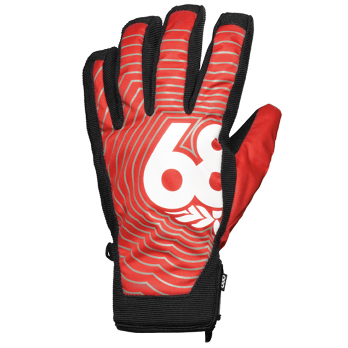 686 Authentic Icon Pipe Snowboard Gloves At Salty Peaks