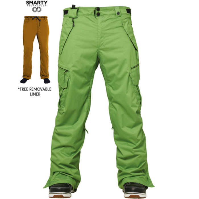686 Authentic Smarty Cargo Snowboard Pants At Salty Peaks
