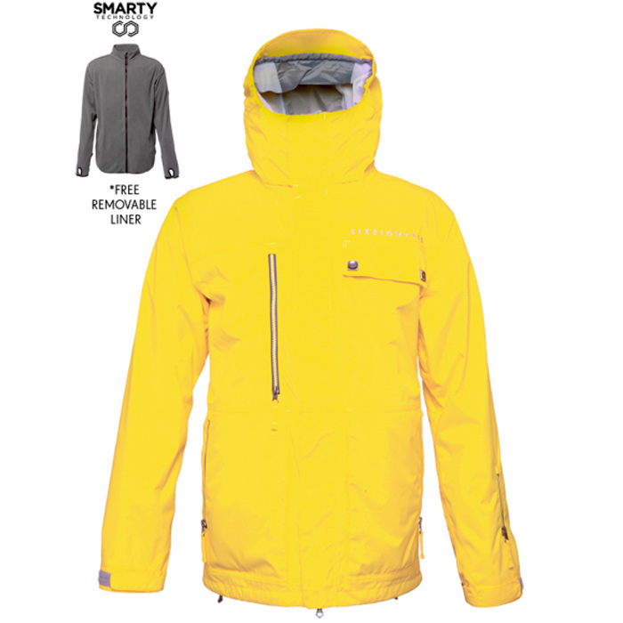 686 Authentic Smarty Form Snowboard Jacket At Salty Peaks