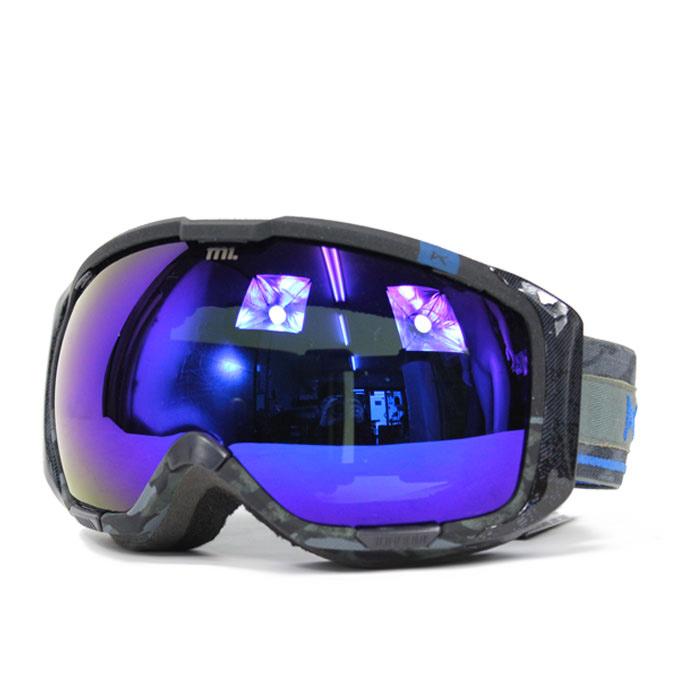 blue snowboard goggles u9ie  Legion, Blue Cobalt